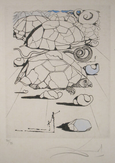 Salvador Dalí, 'The Turtle', 1967