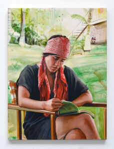 Adam de Boer, 'Portrait of Catalina Reading', 2020