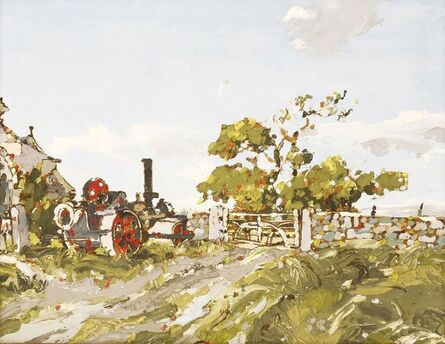 Don McBean, 'AN ABANDONED TRACTOR'