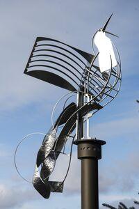 Ania Biczysko, 'Territorial Bird - Outdoor sculpture', 2020