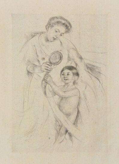 Mary Cassatt, 'Looking into the Hand-Mirror III ', 1905