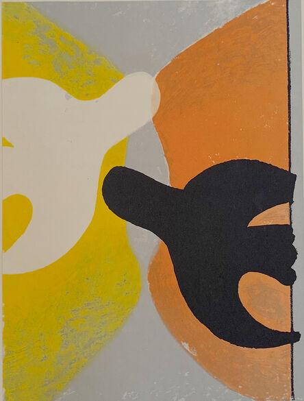Georges Braque, 'Deux Oiseaux', ca. 1958