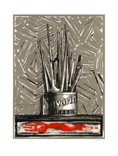 Jasper Johns, 'Savarin', 1977-1981