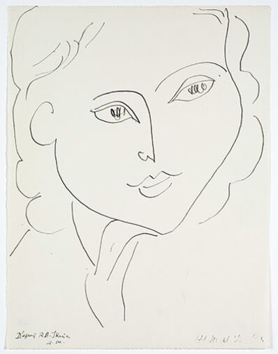 Henri Matisse, 'After R.B. Skira', 1948