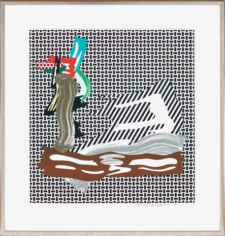 Roy Lichtenstein, 'Brushstroke on Canvas', 1989
