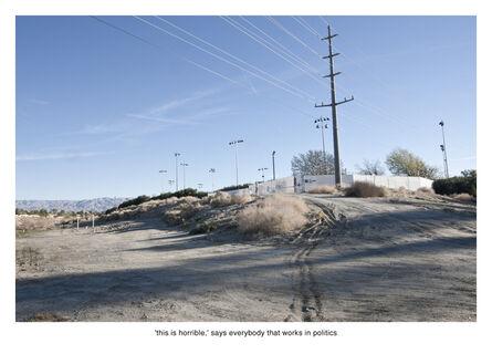 Nate Larson + Marni Shindelman, 'This is Horrible', 2011