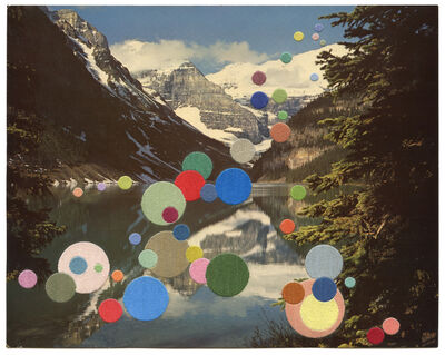 Julie Cockburn, 'Mountain Lake', 2017