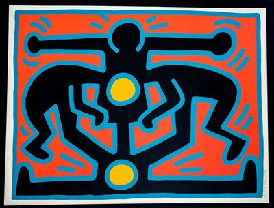 Keith Haring, 'Growing 2', 1988