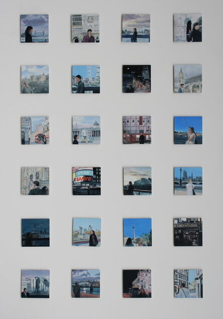 Gro Thorsen, 'City to City, London detail from series of 35', 2012