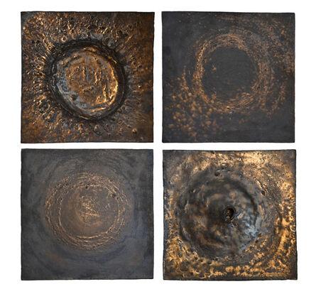 Shizue Imai, 'DARK SIDE OF THE MOON WALL PANELS', 2010