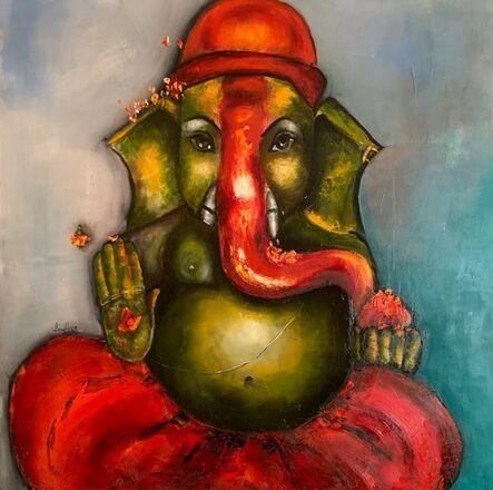 Sandhya Wadhwani, 'Jai Ganesha', 2020