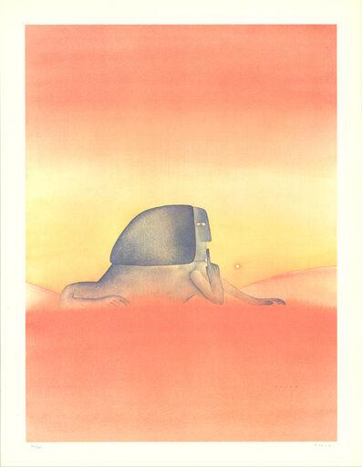 Jean Michel Folon, 'Sphinx', 1960
