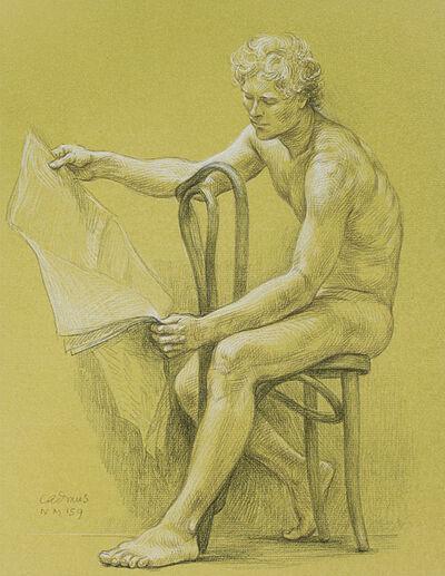 Paul Cadmus, 'Male Nude NM159', ca. 1979