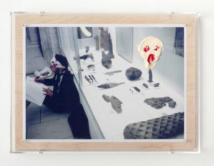 Sarkis, 'Cri sur la photo 1991', 2014