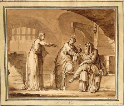 Jean-Michel Moreau, 'Joseph Interpreting the Prisoners' Dreams', 1759-1814
