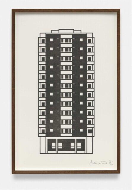 Julian Opie, 'Apartment 9', 2021