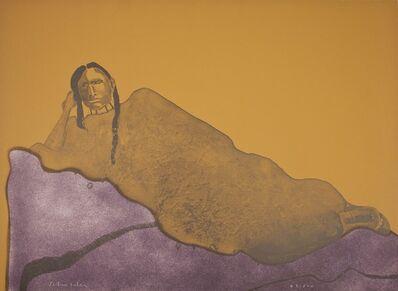 Fritz Scholder, 'Reclining Indian Woman', 1975