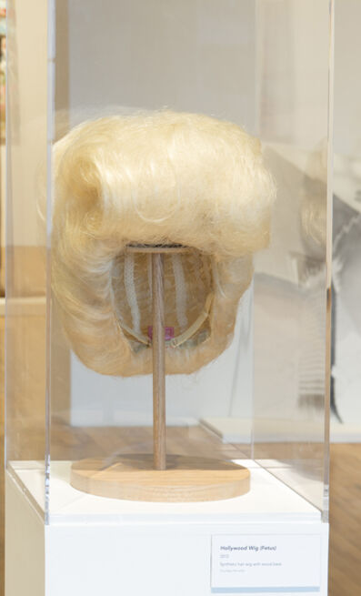 Jim Shaw, 'Hollywood Wig (Fetus)', 2012