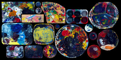 Angki Purbandono, 'Colours of Palette', 2013