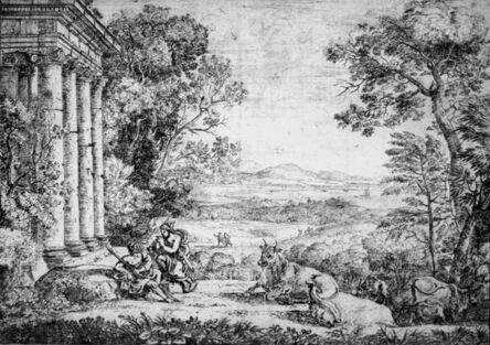 Claude Gellée, Le Lorrain, 'Mercury and Argus (2nd state)', 1662