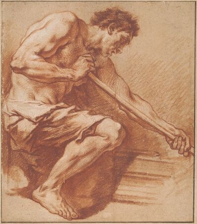 François Boucher, 'Worker at a Forge'