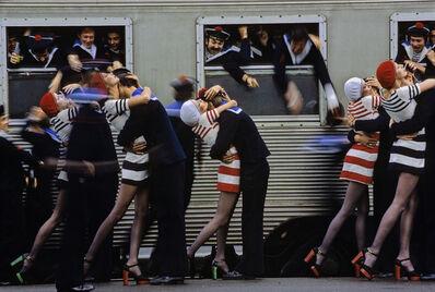 Hans Feurer, 'Chesterfield Stockings', 1975