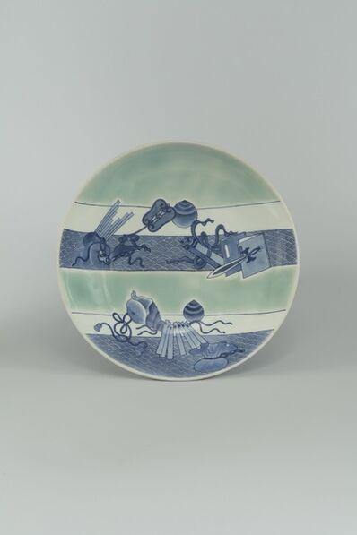 Unknown Artist, 'Nabeshima Porcelain Serving Dish', ca. 1680