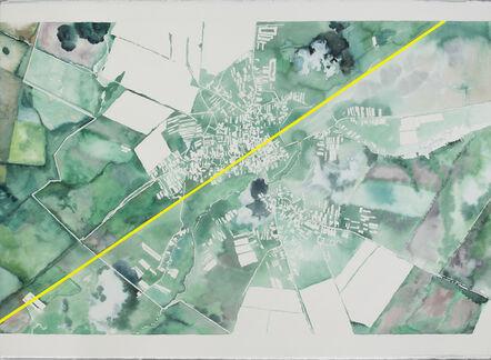 Nikita Shalenny, 'Map #1', 2017