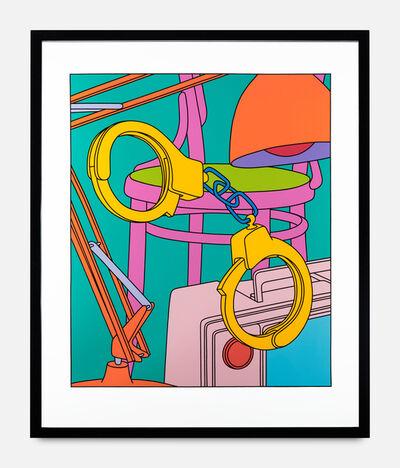 Michael Craig-Martin, 'Handcuffs', 2001