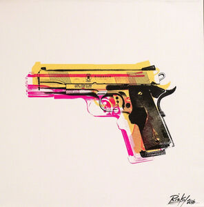 RISK, ' Tools of the Trade Gold (Gun)', 2016