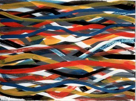 Sol LeWitt, 'Wavy Horizontal Brushstrokes', 1996