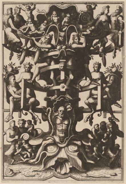 Cornelis Floris II, 'Grotesque', published 1557