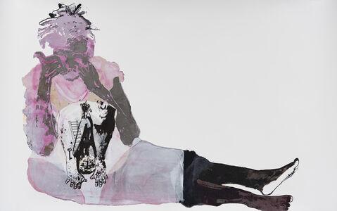 Virginia Chihota, 'kuzvirwisa (fighting self)', 2016