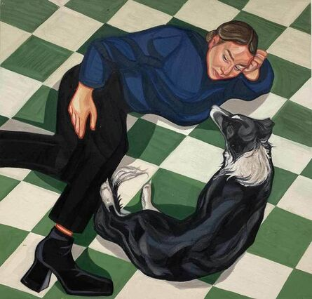 Ania Hobson, 'Chequered Floor', 2020
