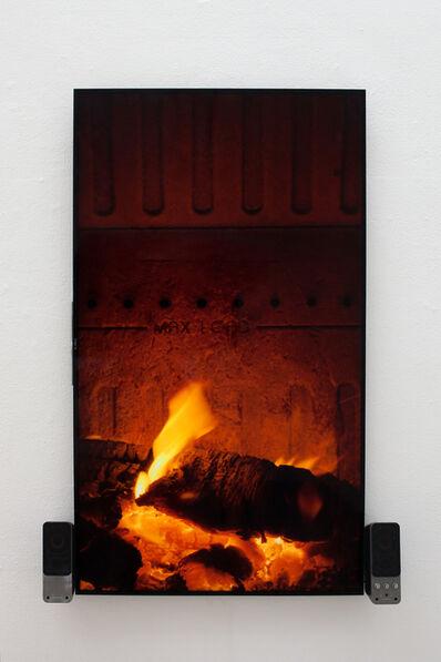 Cevdet Erek, 'Fireplace with beat', 2016