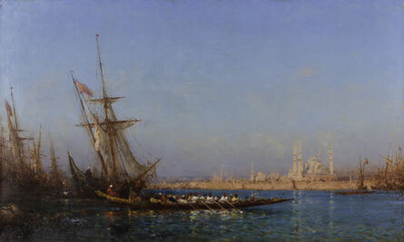 Félix Ziem, 'View of İstanbul', ca. 19