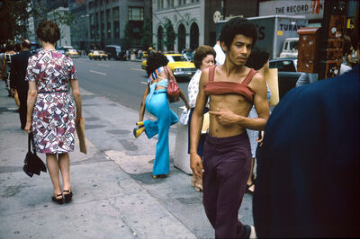 Joel Meyerowitz, 'New York City, 42nd St. and Fifth Ave. ', 1974