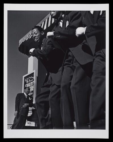 John Gutmann, 'Portrait Of Count Basie, San Francisco', 1939-printed later