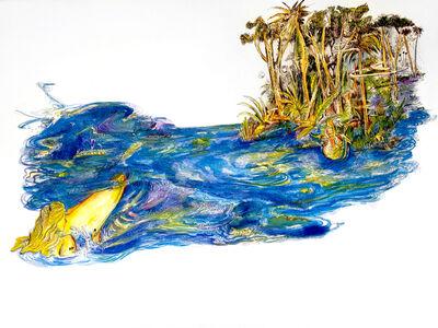 Raúl Recio, 'Los dibujos de la Chapeadora (Drawings of the Gold-digger), ', 2015