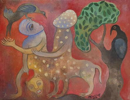 Manuel Mendive, 'Conversando con la naturaleza', 2010
