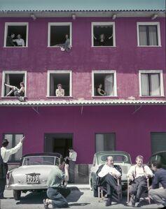 """Tony Vaccaro, 'Extra on the set of """"8 1/2"""", Lazio, Italy, 1962 '"""