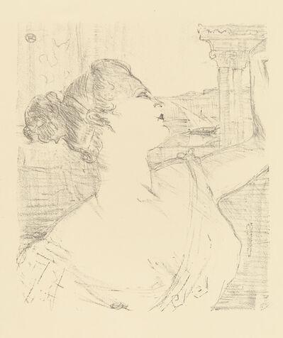 Henri de Toulouse-Lautrec, 'SYBIL SANDERSON', 1898