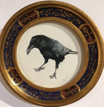 Cynthia Large, 'Censure Acquits Raven aka The Medici Raven', 2017