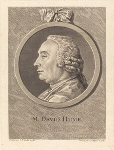 Simon Charles Miger after Charles-Nicolas Cochin II, 'M. David Hume', 1764
