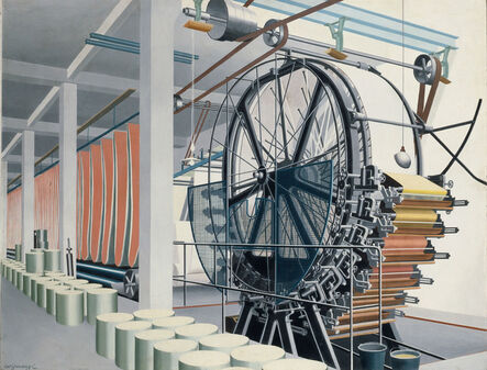 Carl Grossberg, 'The Paper Machine (Die Papiermaschine)', 1934