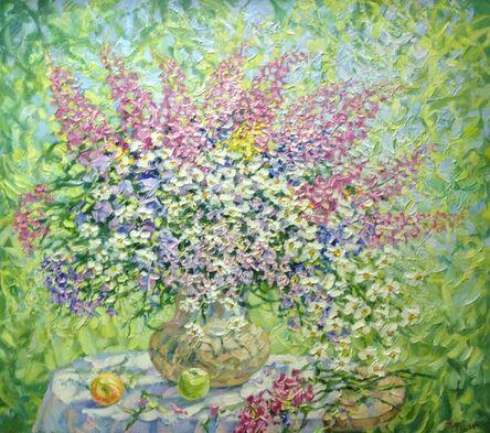 Evgeniy Zhidkov, 'Bouquet with Ivan-tea', 2013