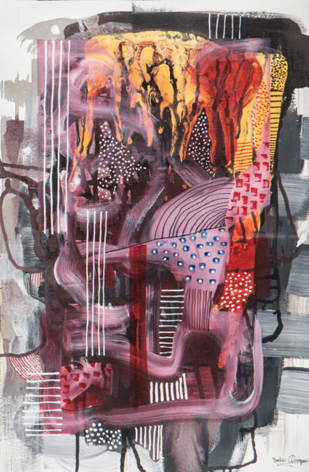 Bashir Qonqar, 'Pile of Colors', 2016