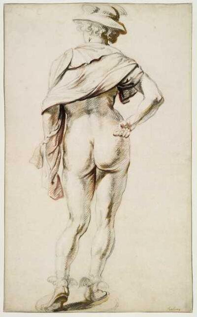 Jacob Jordaens, 'Mercury seen from behind'