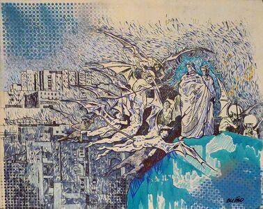 SITO Art Group, 'Ascending. Dante and Vergil series', 2013