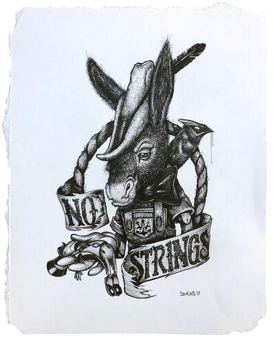Greg 'Craola' Simkins, 'The Broken String', 2017